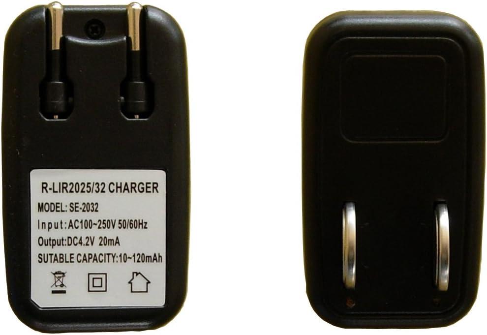 New LIR2032 LIR2025 LIR2016 Coin Button Cell Travel Charger