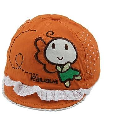 Alvak yellow infant cute bee peaked cap pure cotton sun protection cap(HTZ56)