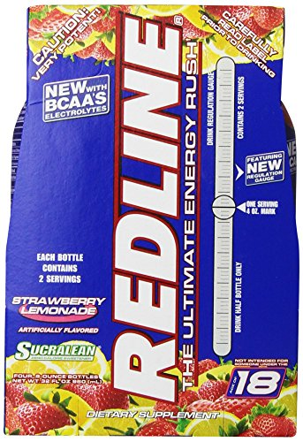 Vpx Redline Rtd, Strawberry Lemonade, 8-Ounce (Pack of 24)
