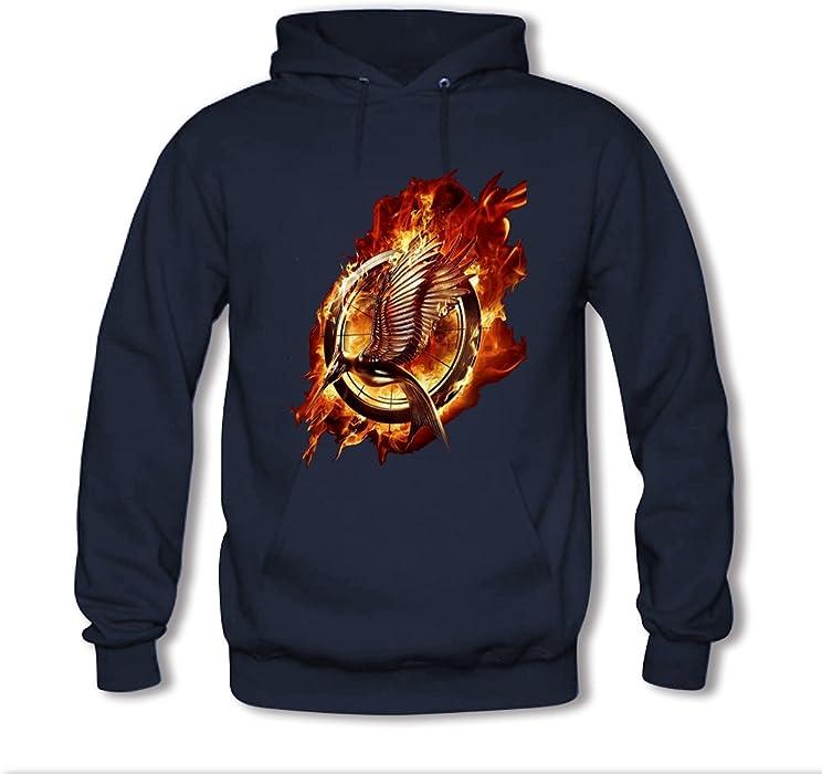 0b0a5ac2 Yulooo Printing Custom The Hunger Games Kids Boys And Girls Classic Hoodie  Sweatshirt Navy Blue