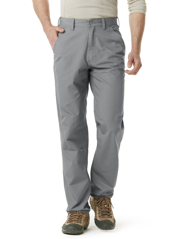 CQR CQ-TWP301-STN_30W/32L Men's Operator Rip-Stop Tactical Work Utility Pants EDC TWP301