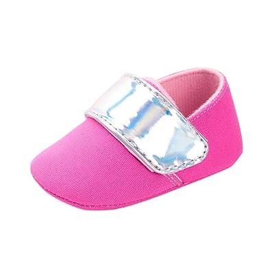 DDLBiz Baby Girls Boys Crib Shoes Soft Sole Anti-slip Baby Sneakers Shoes ,0-18M