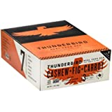 Thunderbird Gluten-Free Non-GMO Vegan Cashew Fig Carrot Bars, 1.7 Ounce - Pack of 15