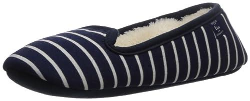 Tom Joule Dreama, Zapatillas de Estar Por Casa para Mujer, Azul (French Navy Stripe),36/37 EU: Amazon.es: Zapatos y complementos