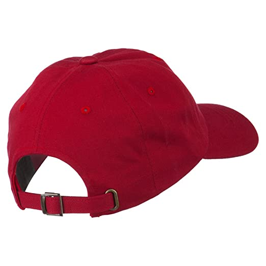 6412d466 Sonette/Yupoong Antique Brass Buckle Low Profile Cotton Twill Cap - Cranberry  OSFM at Amazon Men's Clothing store: