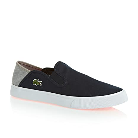 Lacoste - Zapatillas para hombre gris gris gris gris Talla:UK 08