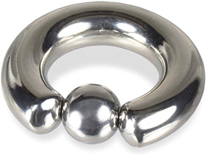 Large metal connector ring Circle  Ring in bronze B009