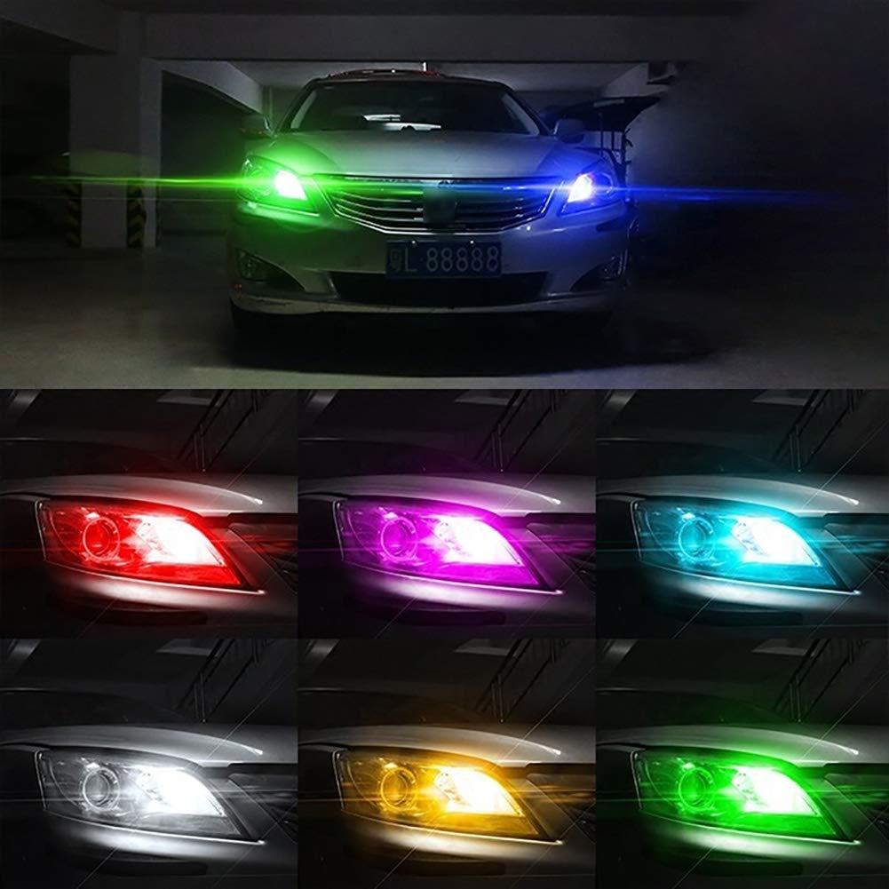 AimdonR Ampoule LED RVB Universelle pour Voiture Multicolore
