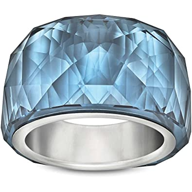 30289d1735677d Amazon.com  Swarovski Nirvana Petite Montana Ring  Jewelry