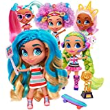 Kids Girls Girls Toys Dolls Hairdorables ‐ Collectible Surprise Dolls and Accessories: Series 1 (Styles May Vary) 1, Multicolor and Bonus (1) Donut Lipgloss & (1) Fashion Doll