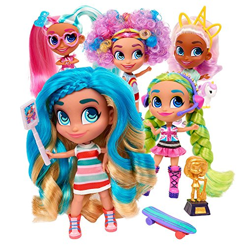 Toy Indoor Kids Girls Hairdorables Dolls Hairdorables ‐ Collectible Surprise Dolls and Accessories: Series 1 (Styles May Vary) 1, Multicolor Bonus (1) Sprinkle Donut Lipgloss & (1) PEZ May Vary