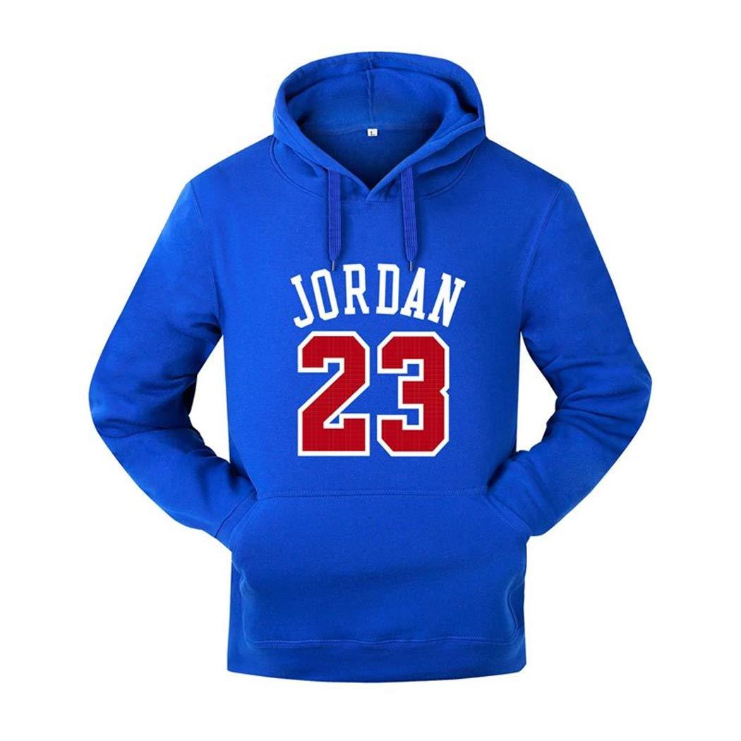 IS Gusssy Men Hoodies Pullover Hip Hop Mens Tracksuit Sweatshirts Men Sportswear Print M Blue