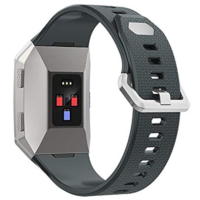 para Fitbit Bandas iónico, Wearlizer Reloj Inteligente ...