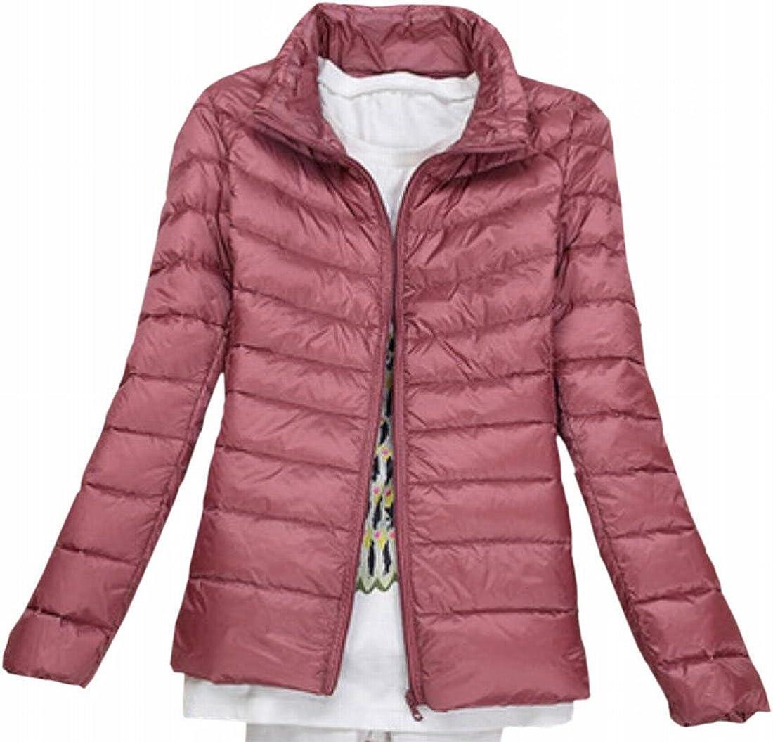 xtsrkbg Mens Long Sleeve Warm Zip up Slim Padded Coat Hooded Quilted Jacket