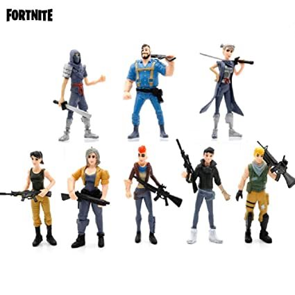 amazon com highcat fortnite game 1 victory royale 8pcs heroes