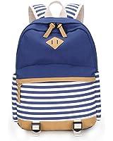 Mädchen Schulrucksack Teenager schultasche Damen Canvas Rucksack Outdoor Freizeit Daypacks Backpack Cityrucksack für Schüler