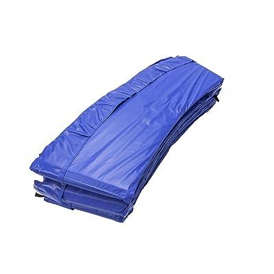 Shangde 13FT-6B Borde de protección para cama elástica Ø 396 cm, azul: Juguetes y juegos