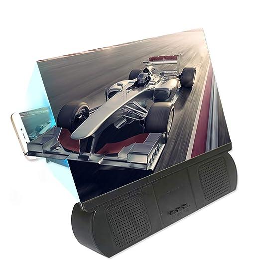 omufipw 12 Pulgadas Bluetooth Spearker 3D HD Pantalla para ...