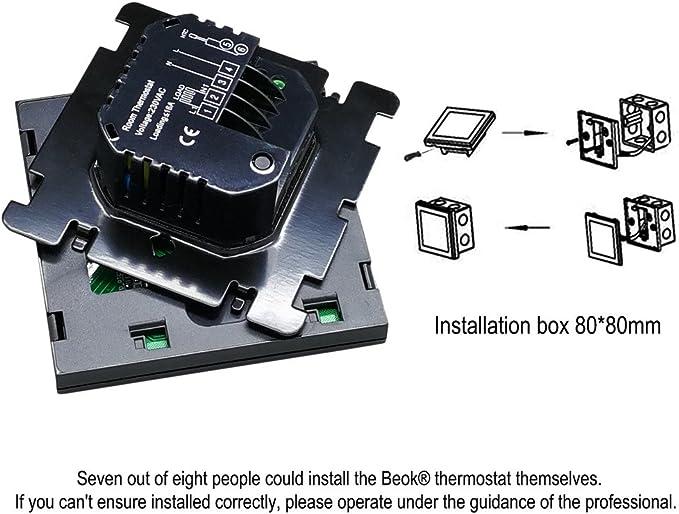 Beok TGT70-EP Controlador De Temperatura De Termostato ...