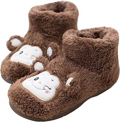 Frelo Women's Monkey Soft Fleece Bootie