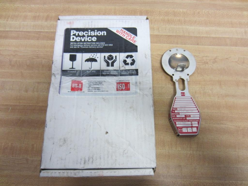 BS & B Safety Systems SKR Rupture Disk A9000153-1