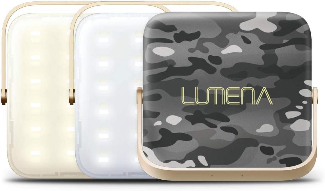 NNINE LUMENA(ルーメナー)7 LEDランタン 迷彩グレー