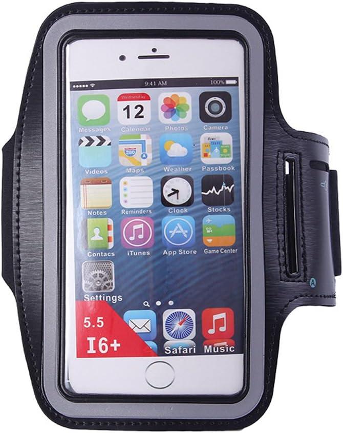 Gossip Boy Men Women Ultra Soft Weatproof Sport Running Armband Case Cover Holder with Adjustable Band /& Key Slots Holder Pocket for Hiking Cycling Jogging Walking Fitness
