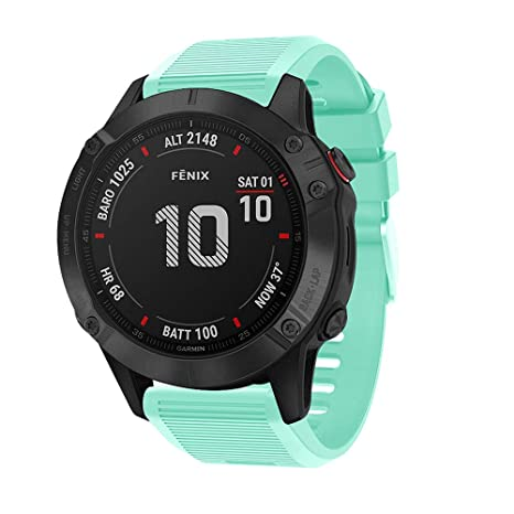 Amazon.com : XZZTX Compatible with Garmin Fenix 6X Smart ...
