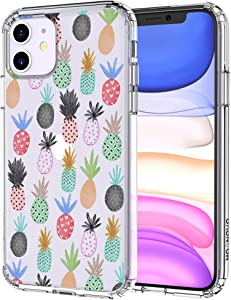 MOSNOVO Cute Pineapple Pattern Designed for iPhone 11 Case - Clear