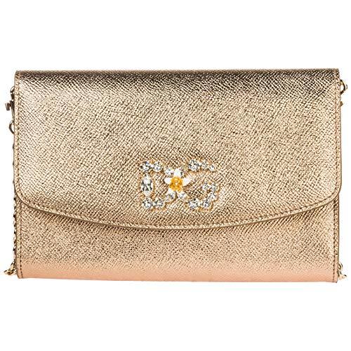 Dolce&Gabbana women clutch bag oro antico