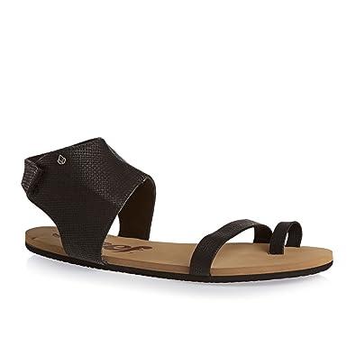 Reef Women's Hampton Black Sandal 5 B ...