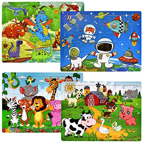 Wooden Jigsaw Puzzles for