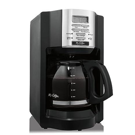 Amazon.com: MR. Café Negro 12-cup Cafetera programable ...