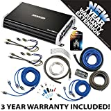 Kicker 43DXA2504 Car Audio 4 Channel Amp DXA250.4 & 8 GA Amplifier Accessory Kit - 3 Year Warranty!