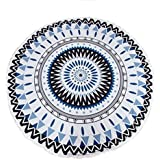 Culater?? Round Hippie Tapestry Beach Throw Roundie Mandala Towel Yoga Mat Bohemian Featur by Culater??