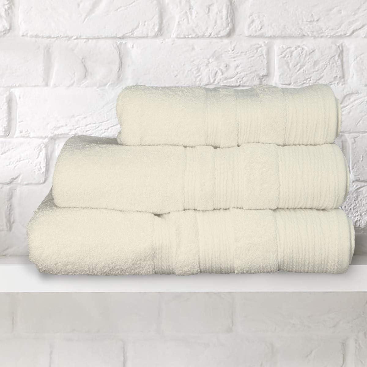 Toallas suaves de lujo – 700 g/m² – 100% algodón egipcio, crudo ...