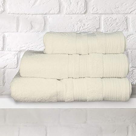 Toallas suaves de lujo – 700 g/m² – 100% algodón egipcio, crudo, Bath Sheet (90x150cm): Amazon.es: Hogar