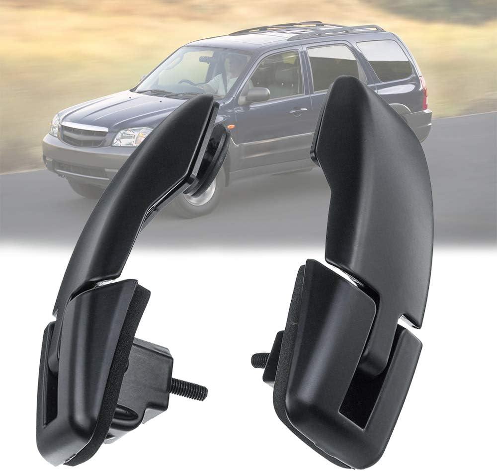 ECY1632AXA Fit for 2001-2006 Mazda Tribute Rear Hatch Lift Gate Upper Glass Window Hinge Set Replaces ECY1622AXA