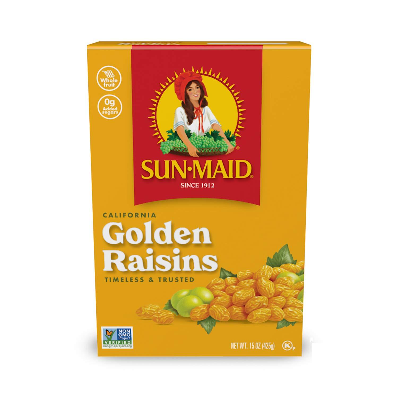 Sun Maid California Golden Raisins, 15-Ounce Boxes (Pack - 2)