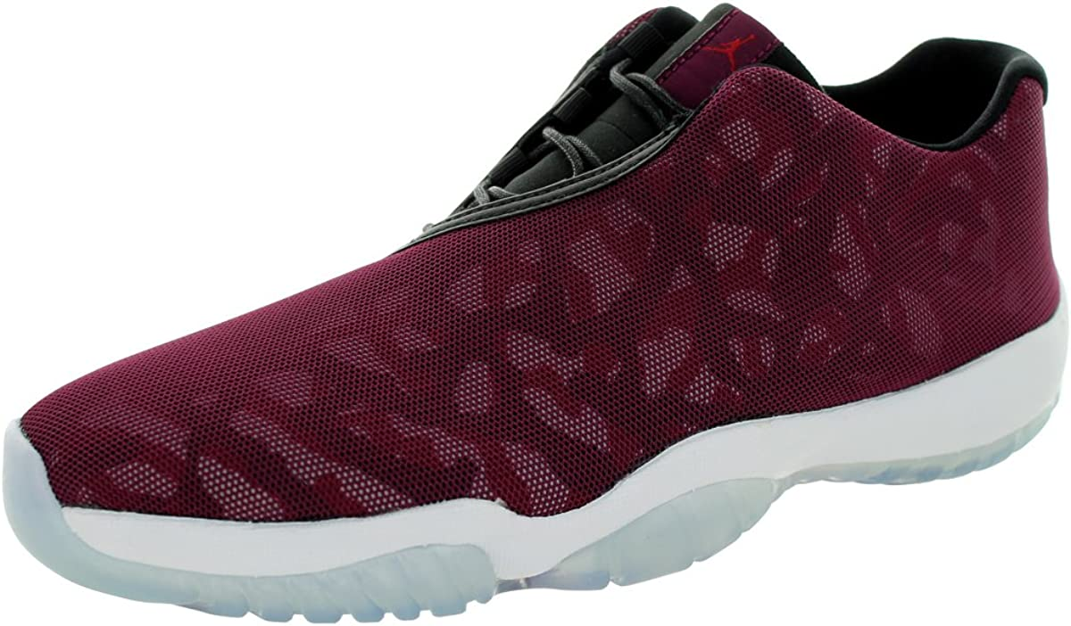 Nike Jordan Mens Air Jordan Future Low BordeauxBlackGym RedWhite Casual Shoe 12 Men US