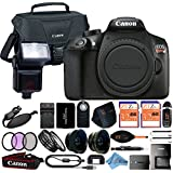Canon EOS Rebel T6 18MP Digital SLR Camera Retail Packaging 24 Piece Bundle (Body Only)