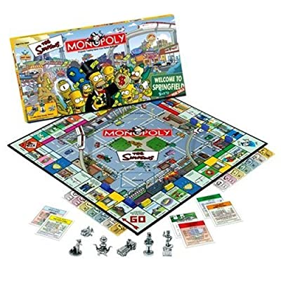 Monopoly The Simpsons Edition: Toys & Games