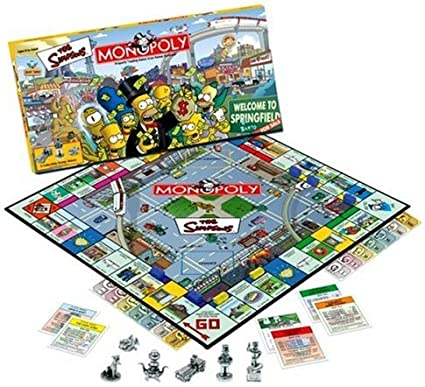 Monopoly The Simpsons Edition by Hasbro: Amazon.es: Juguetes y juegos