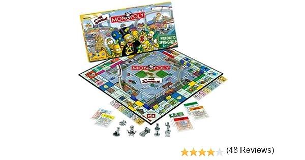 Monopoly The Simpsons Edition by Hasbro: Amazon.es: Juguetes y juegos