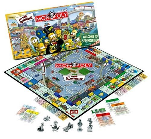 Monopoly The Simpsons Edition