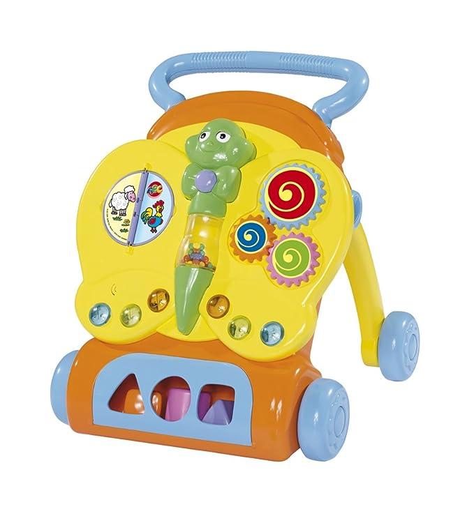 Simba 104015090 ABC - Carrito didáctico para aprender a caminar ...