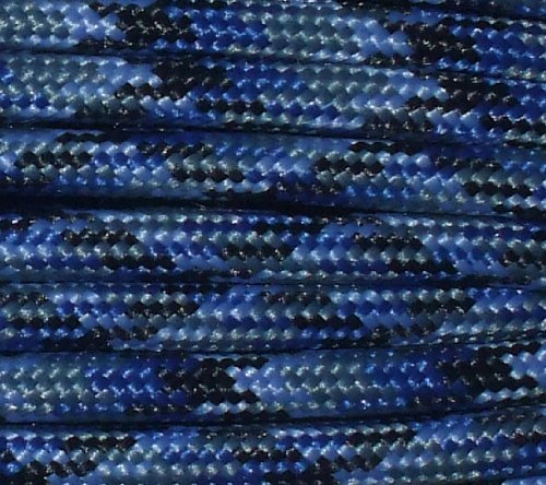 Army Universe Denim 550LB Military Nylon Paracord Rope 100 Feet by Army Universe (Image #1)