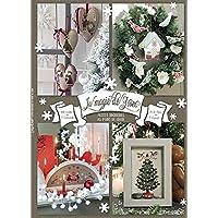 La magie de Noël, petites broderies au point de croix
