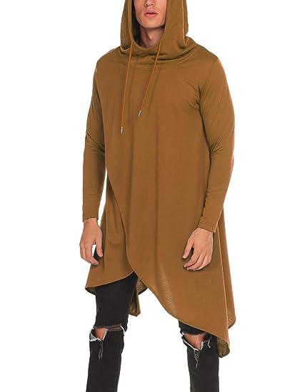 MAXMODA Herren Kapuzenpullover Hoodie Sweatshirt Longsleeve Casual Freizeit  Kittel mit Rundhals S-XXXL  Amazon.de  Bekleidung 61bc1367d0