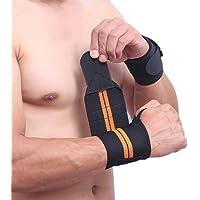 AOTUO Polsband Gym Fitness Ondersteuning Verstelbare Elastische Pols Wraps Bandages voor Gewichtheffen Powerlifting…